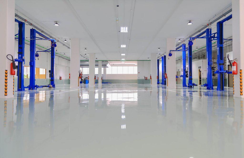 Garage Floor Epoxy-St. Louis